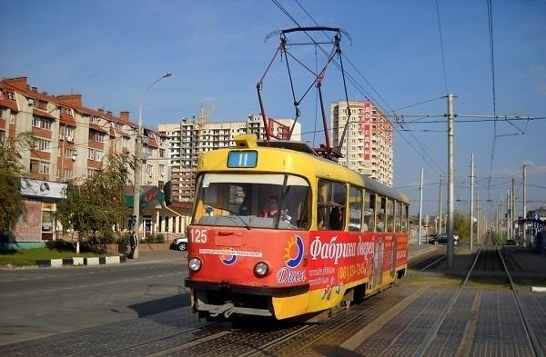 В Краснодаре движение трамваев по улице Калинина полностью восстановлено