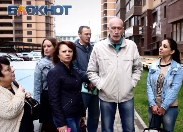 «Незаконная стройка грозит обрушением дому в Краснодаре»,  - жители