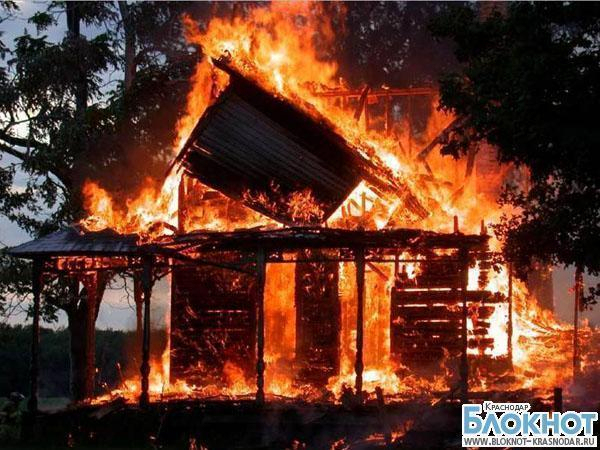 В Лабинском районе при пожаре погиб молодой парень