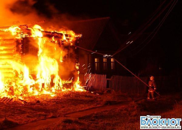 В Темрюкском районе за сутки сгорели трое человек