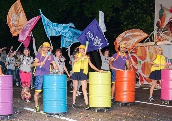 В Сочи в карнавальном шествии приняли участие 4000 человек