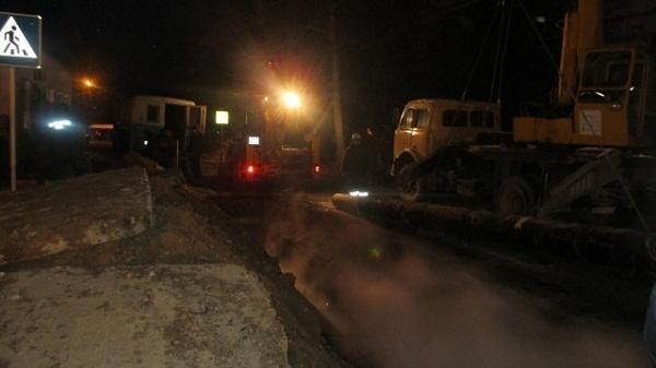 В Анапе продолжают восстанавливать работу теплотрассы