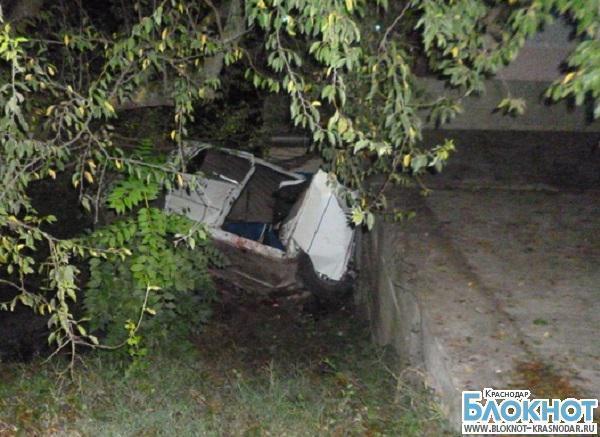 В Апшеронском районе из-за превышения скорости произошла авария