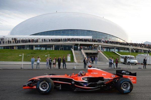 Второй в истории Гран-при России стартует в Сочи
