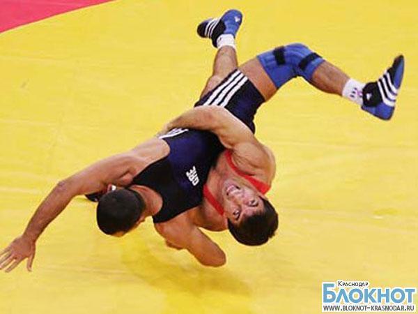 Краснодарцы завоевали первое место на чемпионате греко-римской борьбы