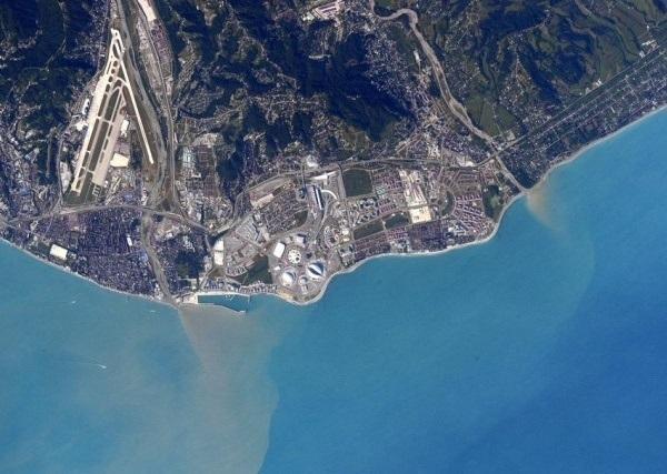 Астронавт из Америки выложил в «Твиттер» фото Сочи из космоса