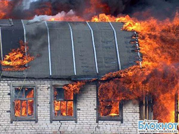 В Тихорецком районе из-за пожара в летней кухне сгорела пенсионерка