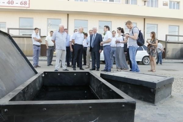 Владимир Евланов попросил у администрации края денег на ливневый коллектор
