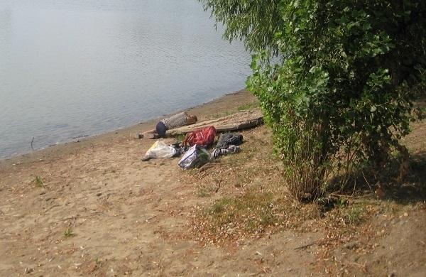 В Краснодаре на берегу Кубани нашли труп рыбака