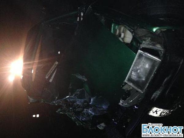 ДТП в Кавказском районе: 1 погиб, 5 травмированы