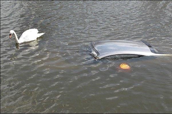 Краснодарец «утопил» Lexus RX в Карасуне