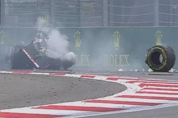 ТОП-5 страшных аварий Гран-при России 2015