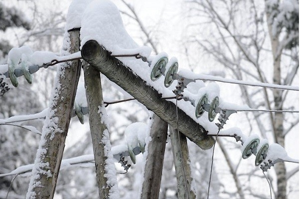 НаКубани объявлено экстренное предупреждение оналипании мокрого снега