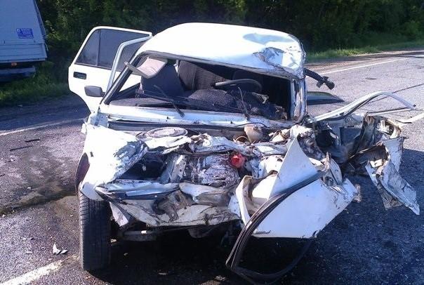 В Динском районе в автокатастрофе погиб водитель «Жигулей»