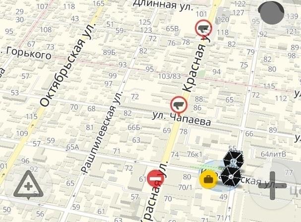 «Это провал!»: Яндекс «закрыл» улицу Красную в рабочую субботу