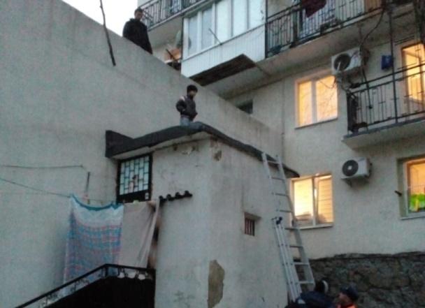5-летнего «Санту» сняли с крыши в Новороссийске