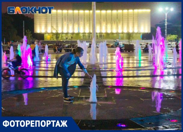Фонтаны Краснодара, или где спасаются от жары жители города