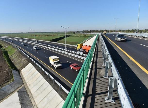 Стала известна дата открытия магистрального въезда в Краснодар