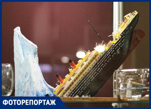 Миниатюрные «Титаник» и «Летучий голландец» показали краснодарцам