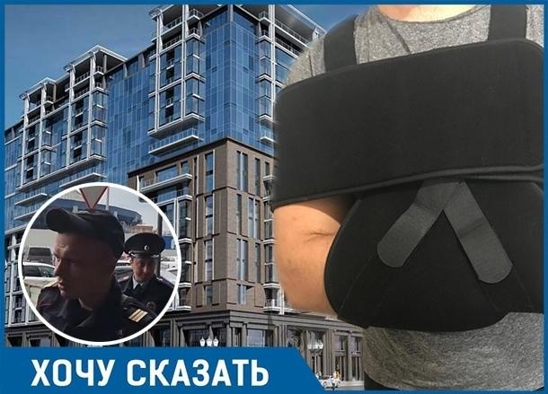 Неизвестные рассверлили несущую колонну и сломали руку жителю ЖК «Центральный» в Краснодаре