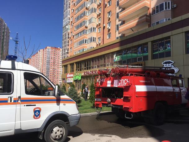 Из-за короткого замыкания в многоэтажке Краснодара эвакуировали 65 детей и 14 взрослых