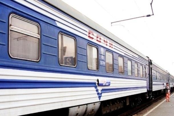 В Сочи из Москвы и Петербурга поезд поедет по новому пути в объезд Украины