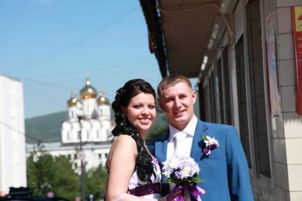 История любви Анастасии и Максима, поженившихся спустя полгода отношений