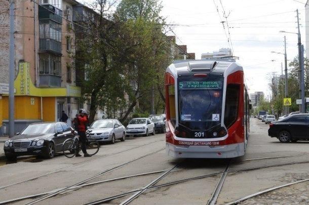 Ремонт ж/д путей внесет изменения в расписание движения трамваев