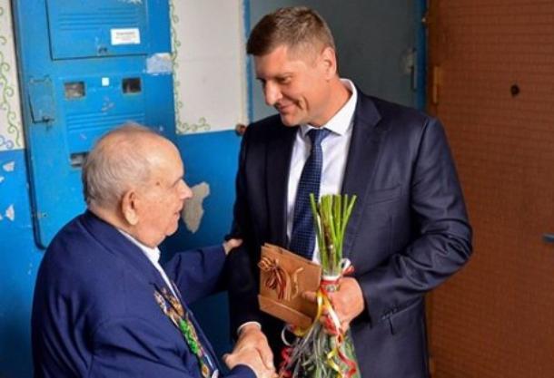 До глубины души поразило вице-губернаторов Кубани общение с ветераном ВОВ