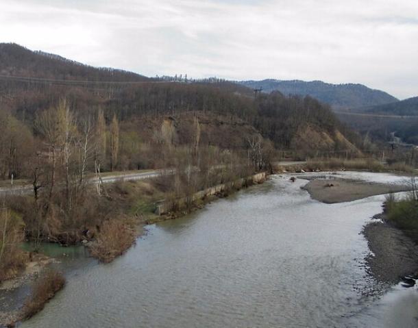 В Белореченском районе на реке Пшиш возможен подъем уровня воды