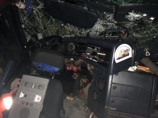 Устроившего ДТП в Ленинградском районе водителя автобуса привлекут к ответственности