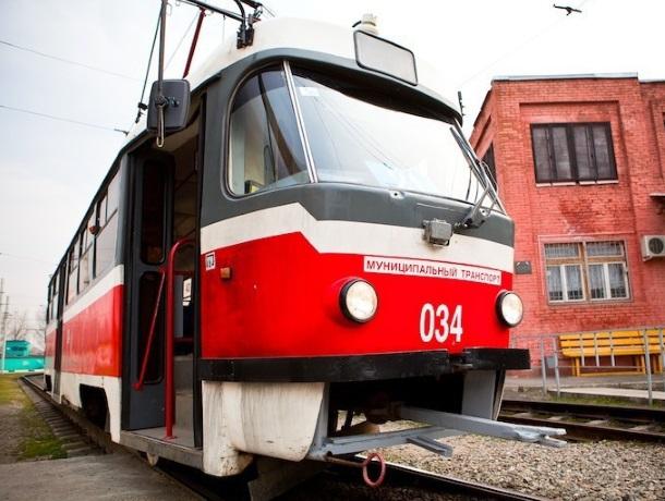 Без некоторых маршрутов трамвая на Пасху остались жители Краснодара