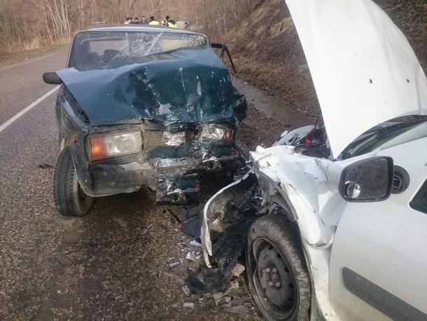 ВТуапсинском районе вДТП навстречке погибла пассажирка «семерки»