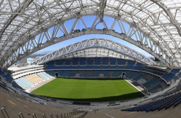 ВСочи после реконструкции введен вэксплуатацию стадион «Фишт»