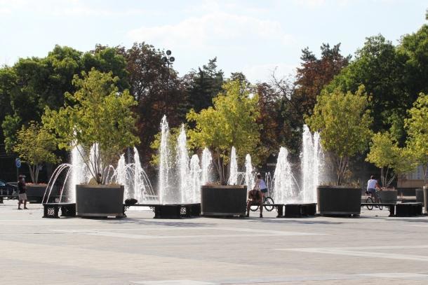ВКраснодаре вДень ВДВ небудут работать фонтаны