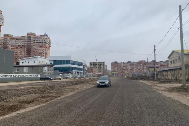 Улицу Автомобильную отремонтировали в Краснодаре