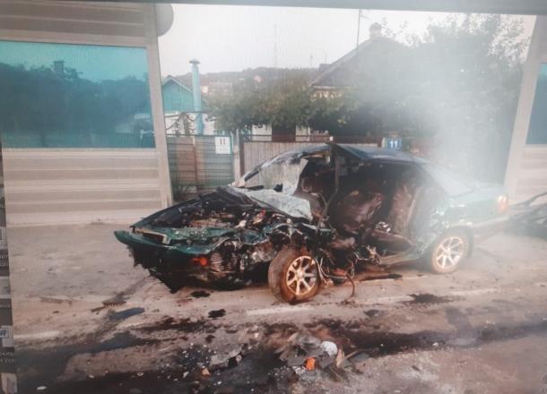 В результате аварии в Крымском районе погиб молодой человек