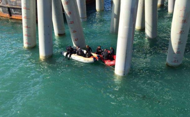 При падении автобуса в море в Темрюкском районе погибло более 10 человек
