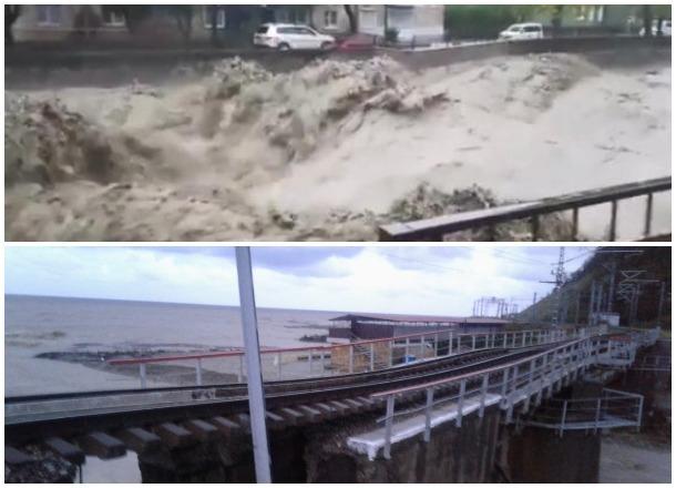Наводнение на Кубани: есть погибшие, пропавшие без вести, разрушены мосты, затоплены тысячи домов