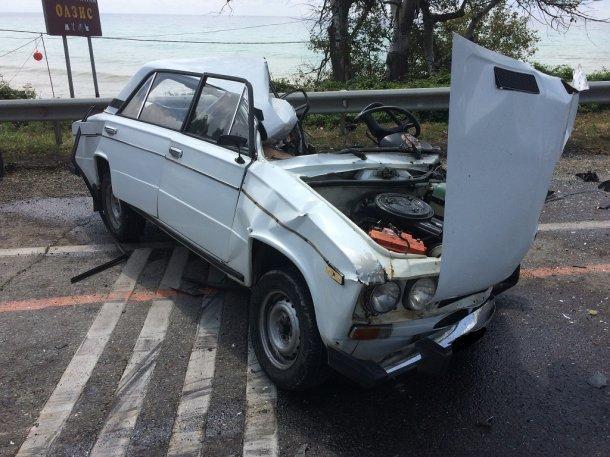 Натрассе «Джубга-Сочи» в трагедии умер 55-летний мужчина