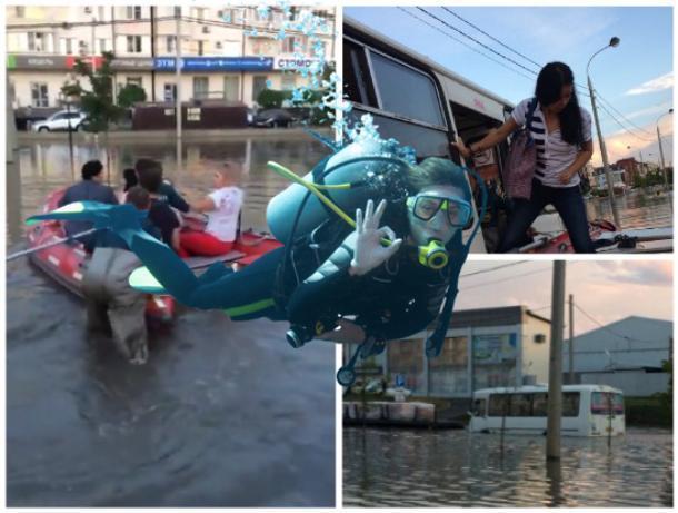 «Здесь рыбы нет»: будни водоплавающих краснодарцев