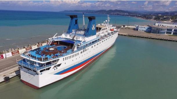 ВСочи отложили 1-ый рейс круизного лайнера «Князь Владимир» вСевастополь