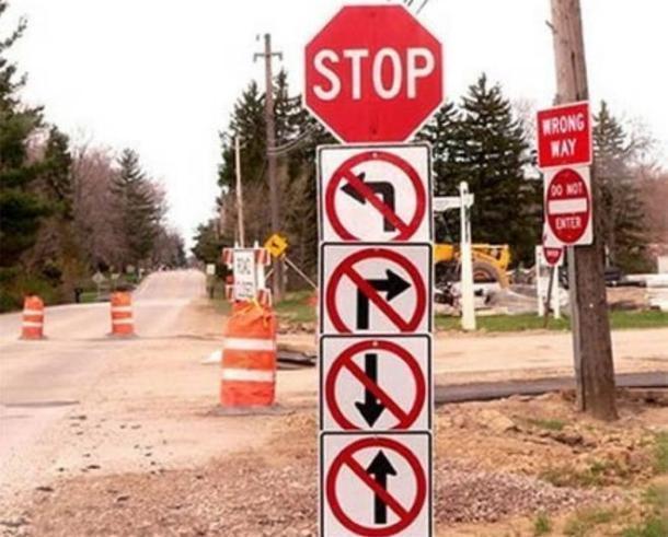 Безвыходная ситуация: краснодарским водителям правила запрещают все
