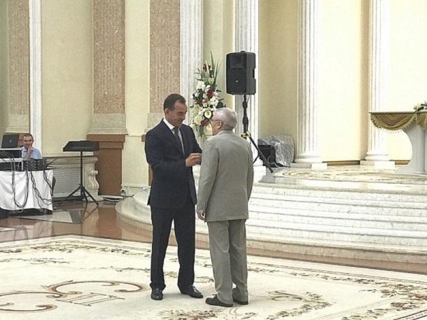 Выдающихся жителей Краснодарского края наградил Вениамин Кондратьев