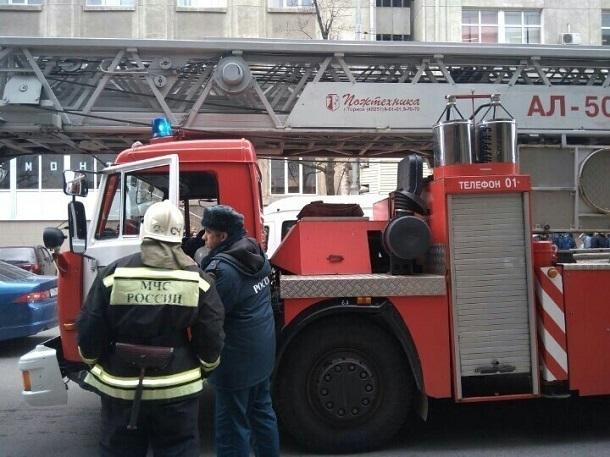 В 17-этажном доме в Краснодаре произошел пожар
