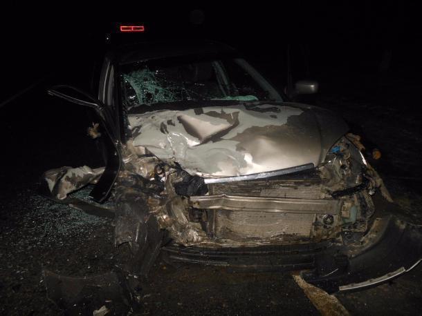 ВАрмавире при столкновении 2-х авто умер шофёр иномарки