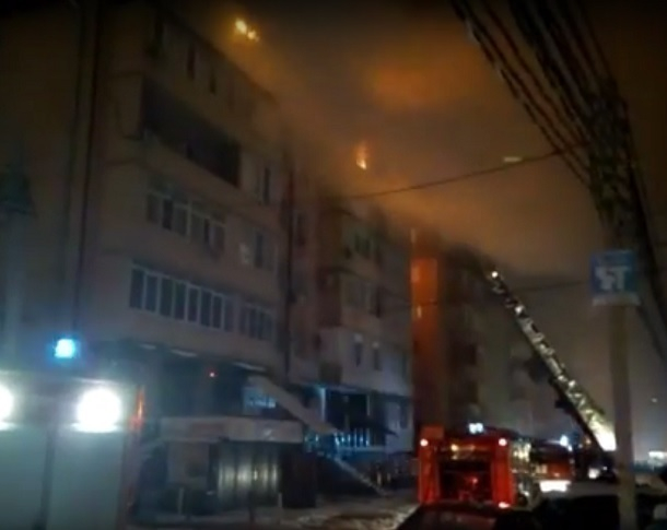 Источник поведал  озадержании вероятностного  виновника пожара всамострое вКраснодаре