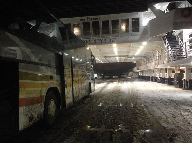Из-за гололеда автобус, направляющийся в Краснодар, попал в ДТП на «засыпанной песком» дороге