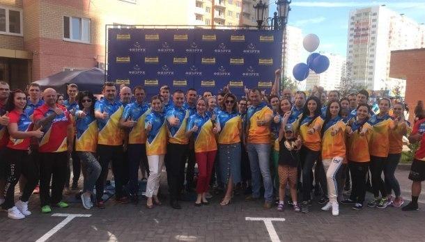 В микрорайоне «Губернский» сотни жителей выполнили нормативы ГТО в рамках «Дня спорта»