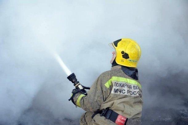 ВКраснодаре потушили пожар всадоводческом товариществе